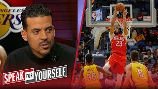 Matt Barnes thinks L.A. is a 'great landing spot' for Anthony Davis | NBA | SPEAK FOR YOURSELF