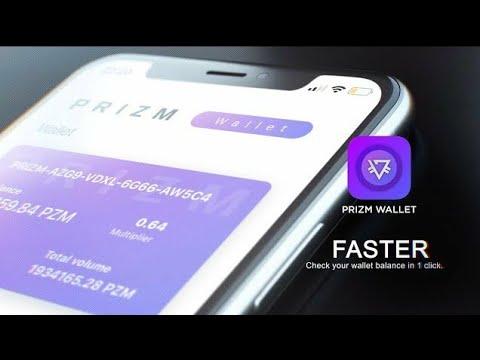 Кошелек от PrizmGroup для криптовалюты PRIZM / Prizm Wallet