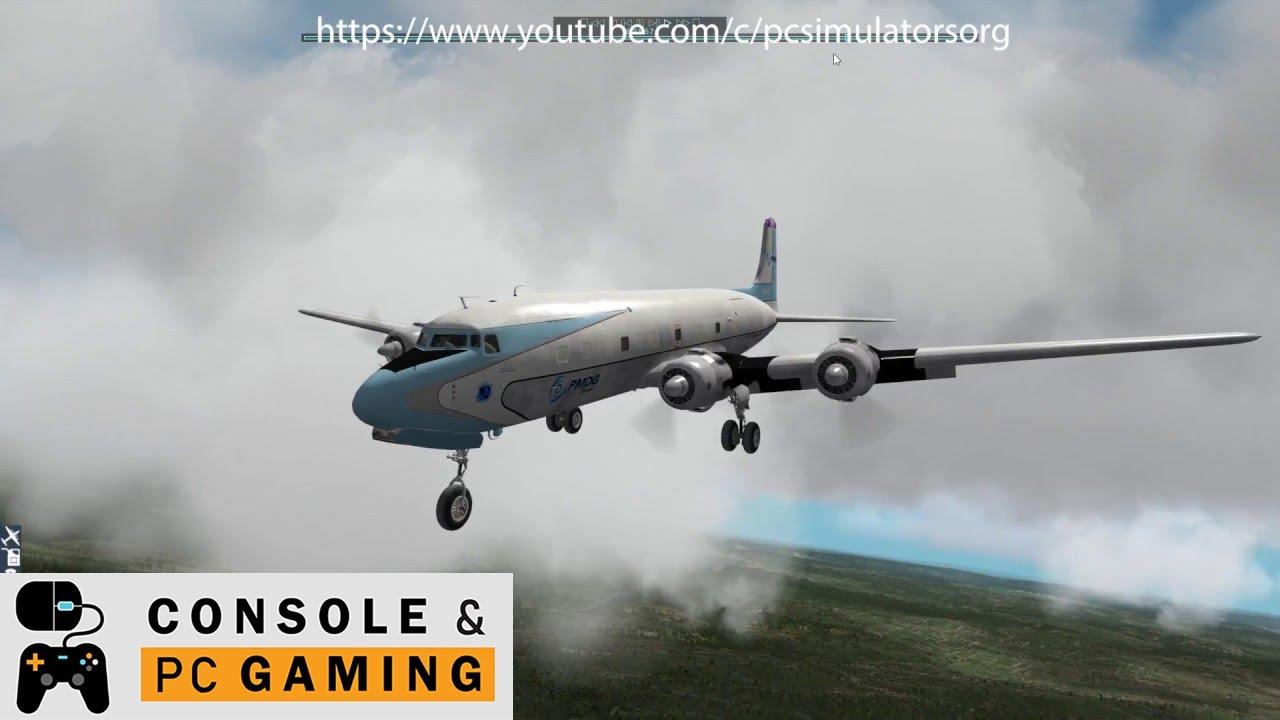 Flight Simulator - PMDG DC6 review