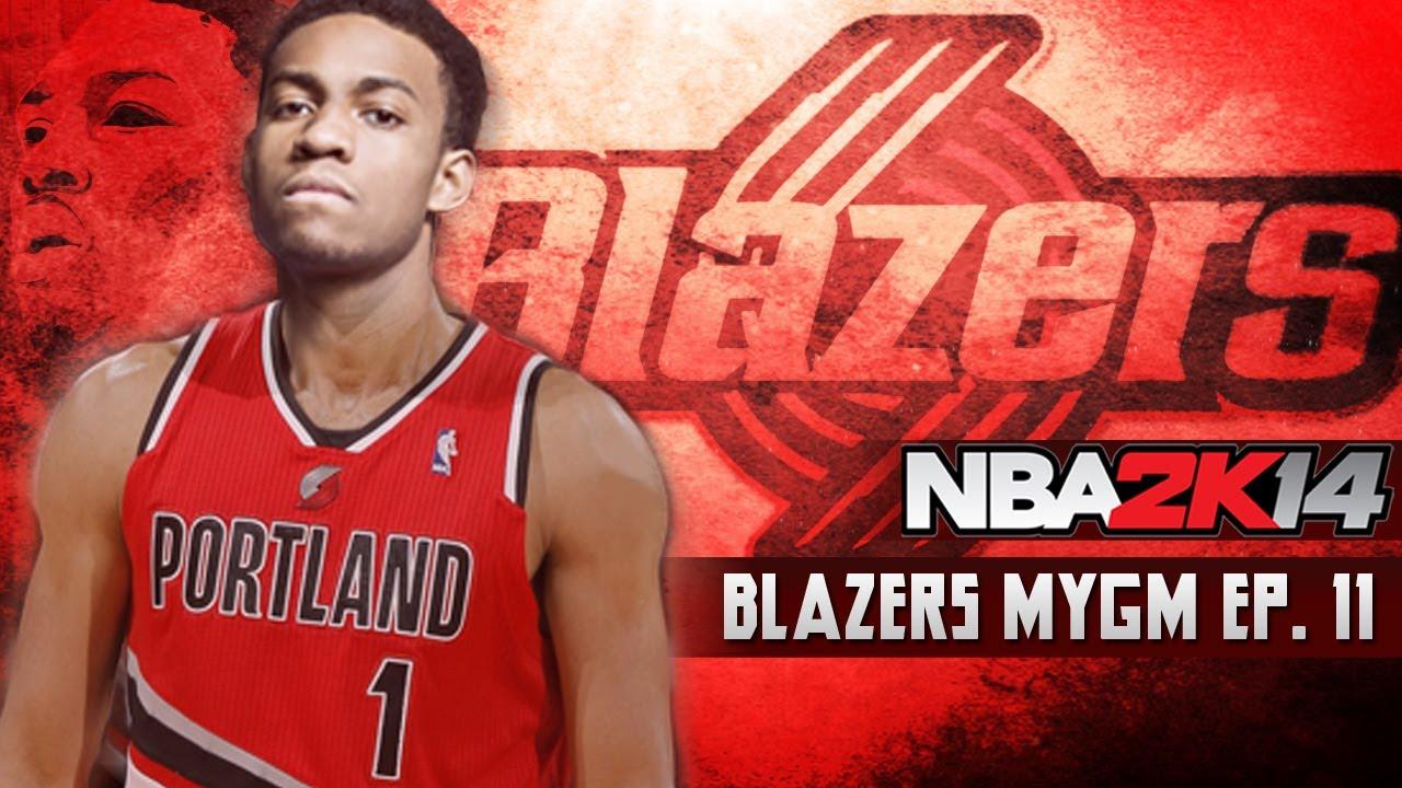 NBA 2K14: Blazers MyGM Ep.11 | Jabari Parker vs Andrew ... Jabari Parker Nba 2k14