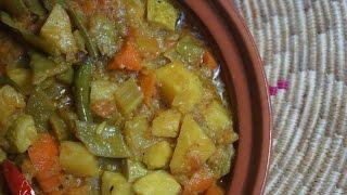 Ethiopian Food Mixed Vegetable Vegan Mild Stew - የ አትክልት ወጥ አሰራር