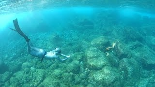 Karol Meyer  * Freediving adventure at Sancho beach - Fernando de Noronha - Brazil