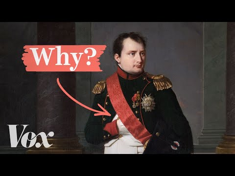 Why Is Napoleon's Hand Always in His Waistcoat?: The Origins of This Distinctive Pose Explained