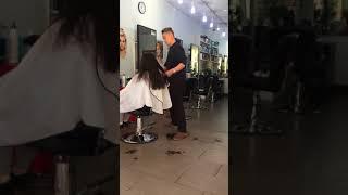 怎样修剪长头发做Ombre Hair