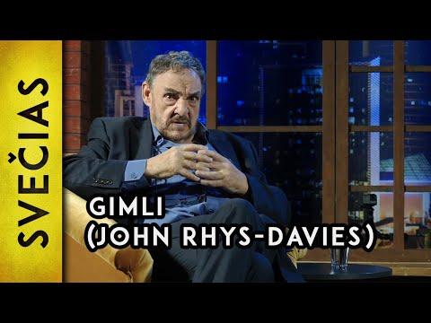 """I bump into the hobbits on a regular basis"" – Gimli John RhysDavies  Laikykitės ten pokalbiai"