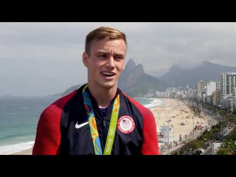 "Steele Johnson On David Boudia: ""He's Shown Me The Ropes"""