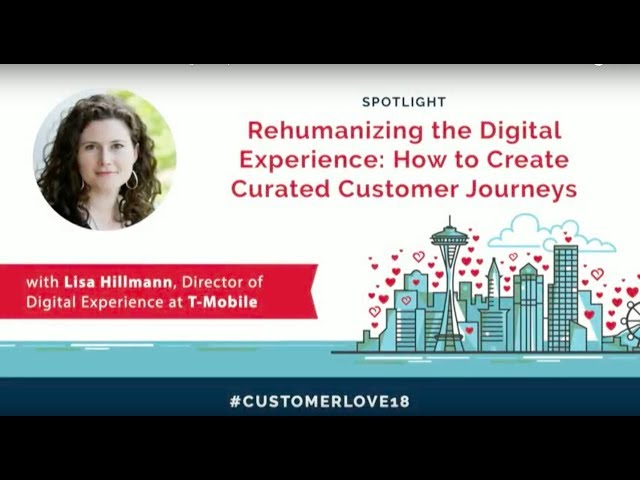 Post for video 'How T-Mobile Rehumanizes the Digital Experience