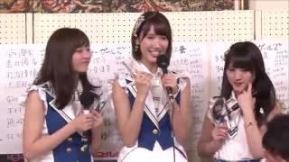坂口理子 田中菜津美 植木南央 AKB48総選挙2017直後インタビュー 柏木由紀 HKT48