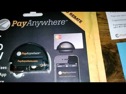 Pay Any Where - Free Credit Card Swiper