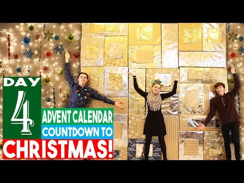 BIGGEST Advent Calendar! Day 4 Christmas Countdown 2018