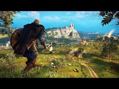 Assassin's Creed Valhalla - Open World Gameplay (PC) @ ᵁᴴᴰ 60ᶠᵖˢ ✔