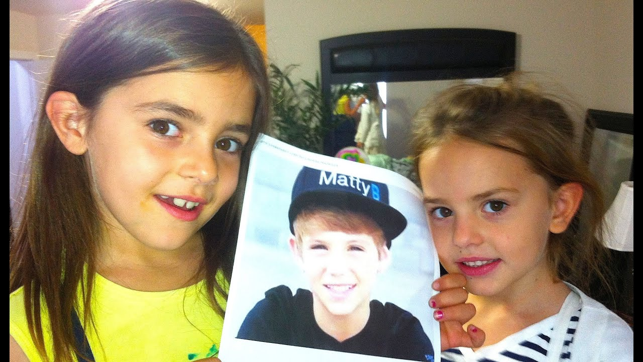 DO YOU HAVE A CRUSH ON MATTY B?! - YouTube
