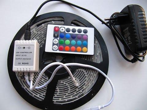 Светодиодная лента своими руками видео фото 963