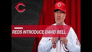 Reds introduce David Bell as new manager