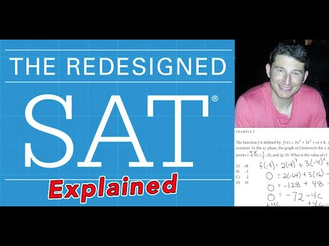 The New SAT - Question #1 - Heart of Algebra