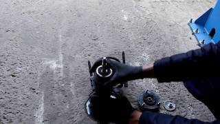 chevrolet Epica Шевроле Эпика 2011 года Замена переднего сальника коленвала