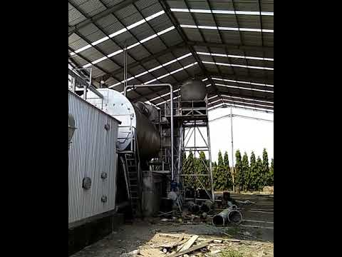 BOILER System Installation for Indonesia Woodworking Factory - YouTube