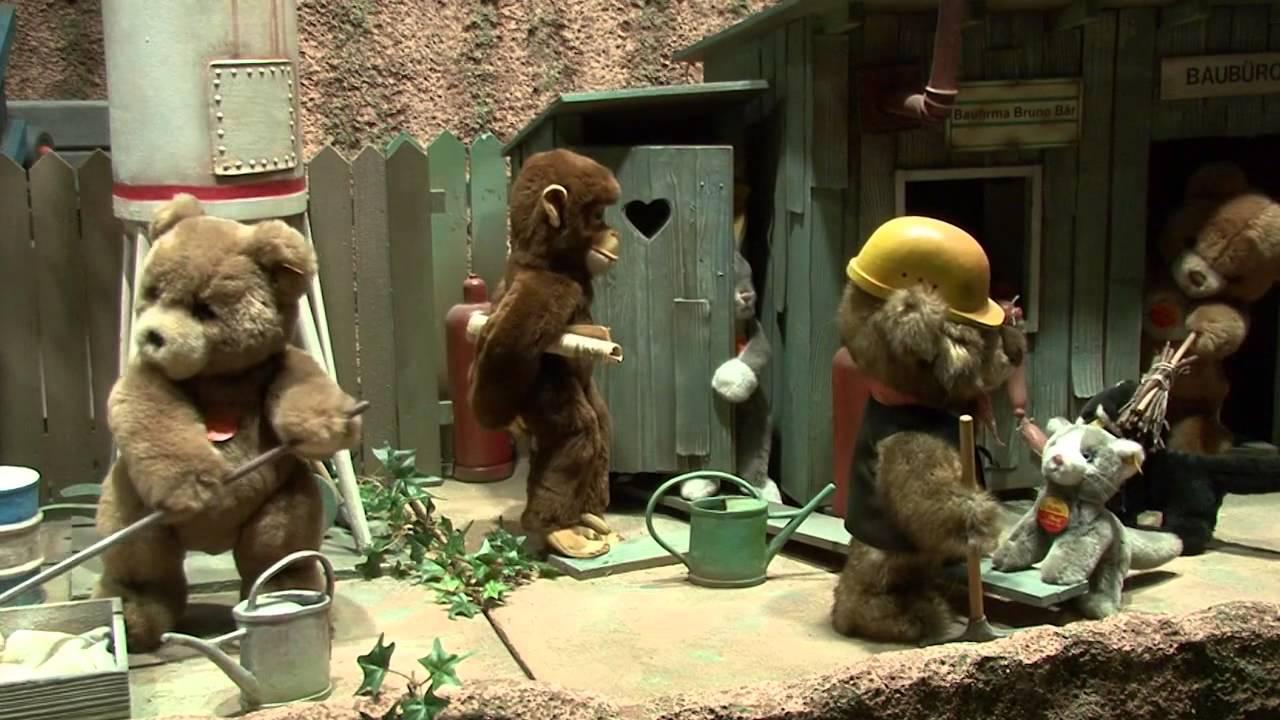 Schaufenster tierische baustelle spielzeug welten museum