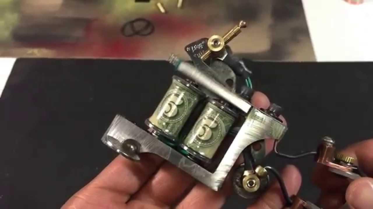 Custom tattoo machine wasted irons machines bully mast for How to make a home made tattoo machine