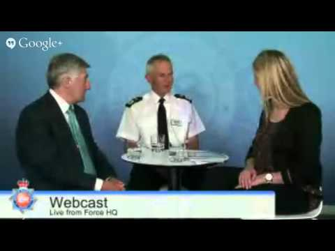 Chief Constable Sir Peter Fahy and Police and Crime Commissioner Webcast