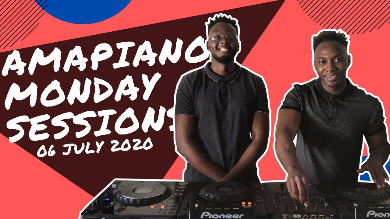 AMAPIANO MONDAY SESSIONS | 06 JULY 2020 | Mogodu Mondays Moja Cafe | DoubleTroubleMix By PS DJz