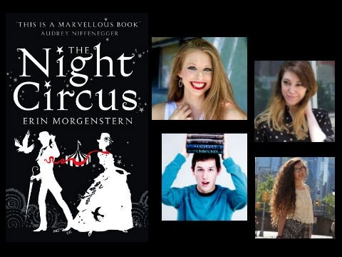 THE NIGHT CIRCUS LIVESHOW!! #THEBOOKCIRCUS