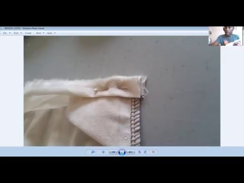 Part 2: How to sew your skirt's waistband with tro