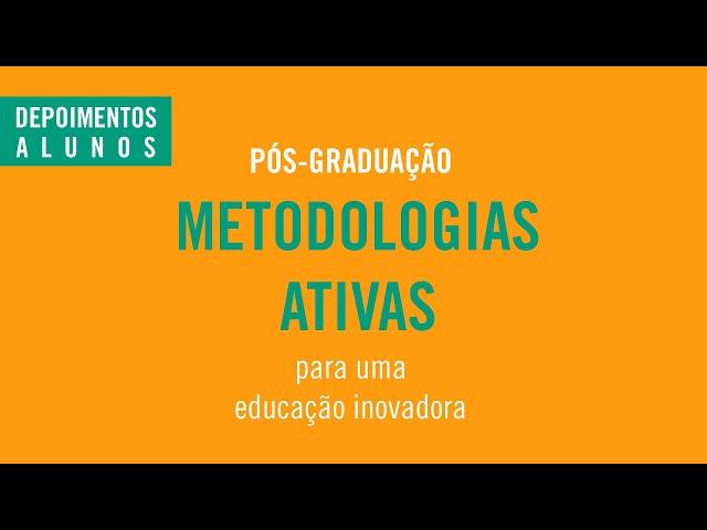 #PósGraduaçãoSingularidades - Metodologias Ativas (Modelo Híbrido)