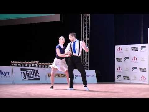 Yann-Alrick et Solenn World cup Boogie Moscou 2010 Demi finale