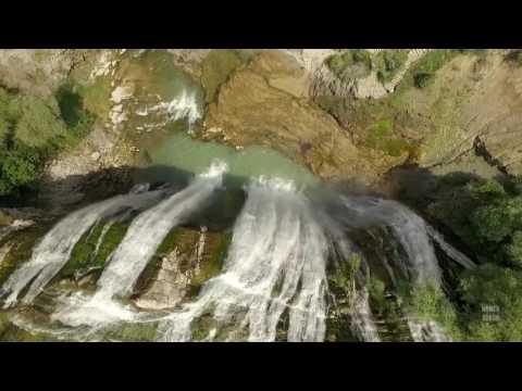 Tortum Şelalesi Erzurum / Drone Footage