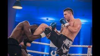 28 Sekunden KNOCKOUT! - Michael Smolik vs. Kaz Mwamba | LIVER SHOT