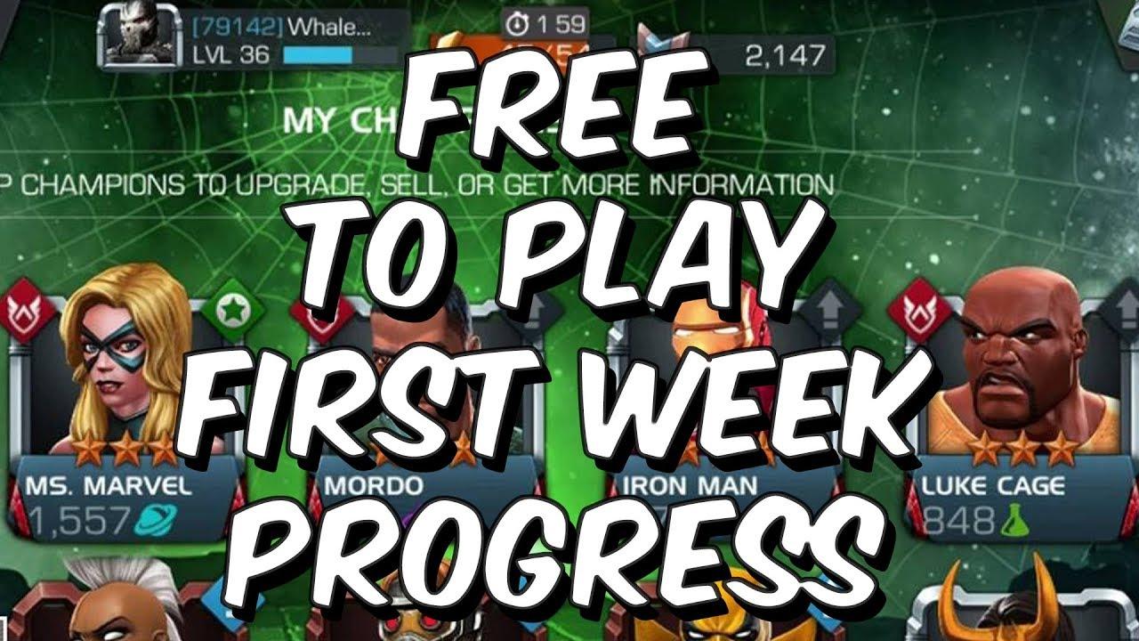 Free Week Champions