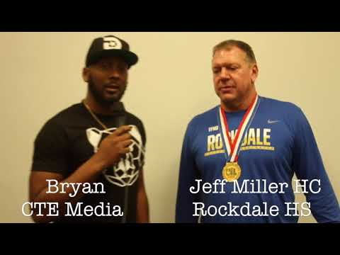 CTE Media Interview With 3A Division 1 State Champ Head Coach Jeff Miller of Rockdale High School