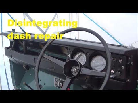 Land Rover Series 3 Restoration - Dashboard Rebuild And Repair