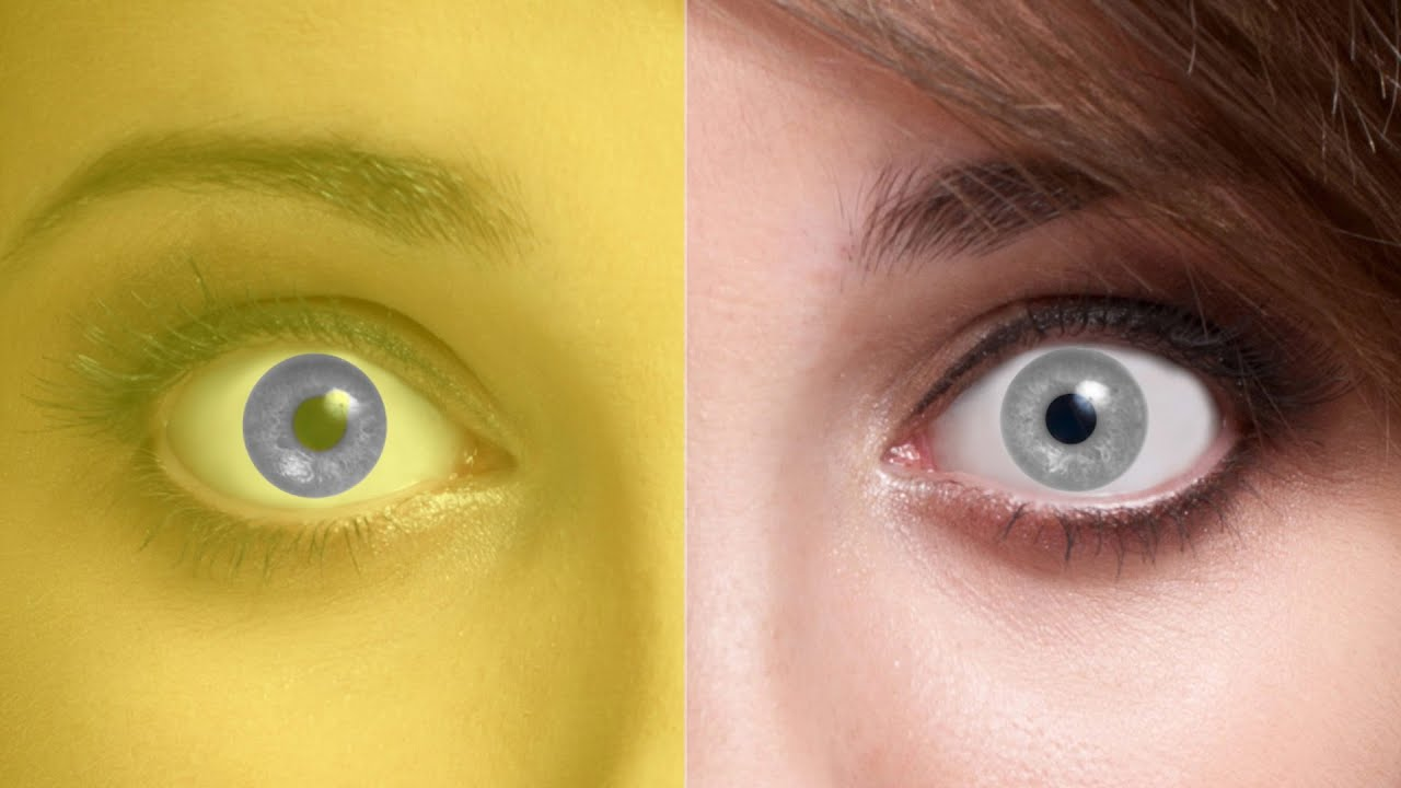 eyes different colored optical illusions eye does everything lady question buzzfeed changes