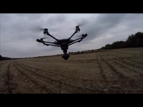 How to operate the Typhoon H Drone