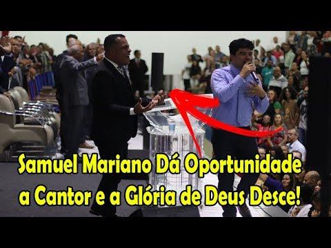 Samuel Mariano Surpreende De Novo e Dá Oportunidade a Cantor! - Emocionante!