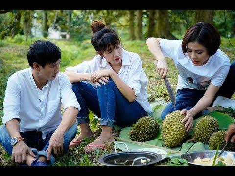 Việt Nam tươi đẹp | Vân Trang đưa Lý Hải - Minh Hà về Cai Lậy hái sầu riêng | HTV VNTD