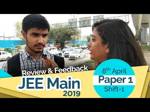 How many students have appeared for jee mains april 2019