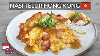 5 Menit Jadi! Resep Nasi Telur Hong Kong: Gurih &amp Ekonomis Egg Chiffon Rice