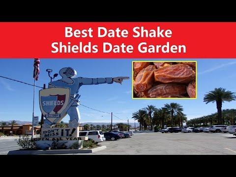 ✅ BEST DATE SHAKE - SHIELDS DATE GARDEN INDIO - PALM SPRINGS - CALIFORNIA
