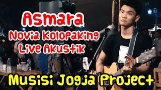 Gambar cover ASMARA - Novia Kolopaking Live Akustik Musisi Jogja Project - Pendopo Lawas Jogja