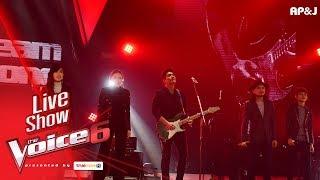 โชว์ทีมก้อง - While My Guitar Gently Weeps - Live Show - The Voice Thailand - 11 Feb 2018