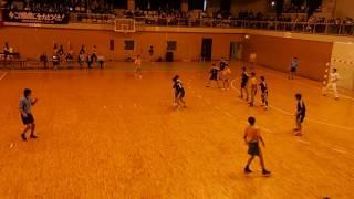 高校ハンドボール2016新人戦_男子_田辺VS城南菱創(前半)