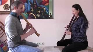 Первый урок с Ольгой Парфёновой по японской флейте сякухати (shakuhachi)