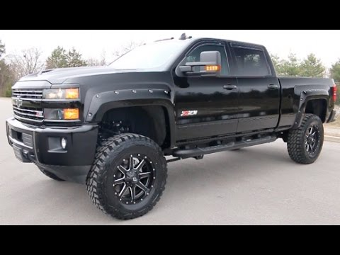 2017 chevy silverado crew cab 2500hd lt z71 midnight edition 6 pro comp lift wilson co chevy. Black Bedroom Furniture Sets. Home Design Ideas