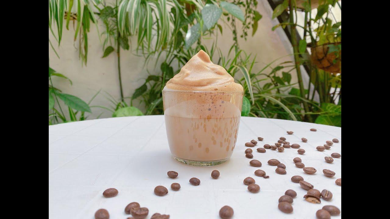 Espuma de café con Monsieur Cuisine