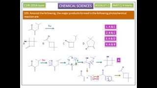 Free radicals -Norrish Type-2 reaction-Photochemistry examples-CSIR UGC Chemical Sciences Answer