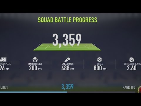 FIFA 18 | Squad Battles | Ultimate Exploit | 3,3k points (PATCHED)