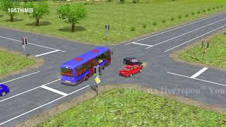 Типичные дорожно-транспортные происшествия.